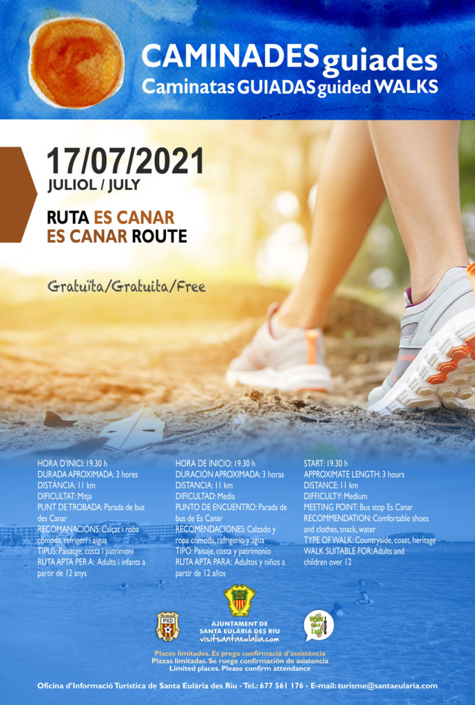 Guided Walk: Es Canar Route